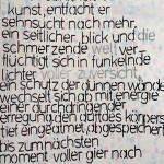 SILKA SCHWIEGERLIN // FLÜCHTIGE BEGEGNUNGEN //
